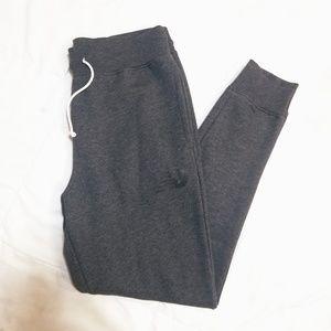 •New Balance• grey core slim jogger pants